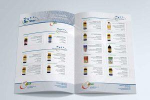 packaging y catálogo de productos