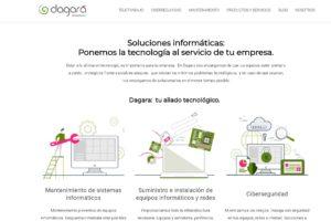 diseño sitio web, optimización y SEO Dagara.net