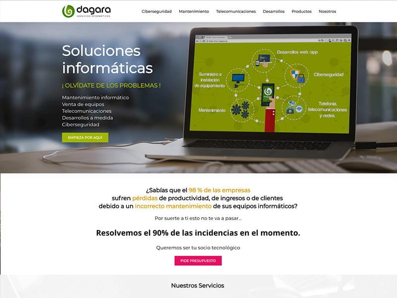optimización y SEO Dagara.net